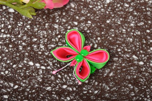 Beautiful handmade hair clip childrens barrette designer hair accessories - MADEheart.com