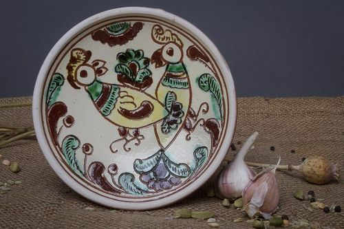 Decorative wall plate - MADEheart.com