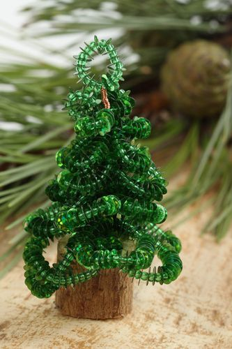 Artifical Christmas tree handmade beautiful home decor decorative use only - MADEheart.com
