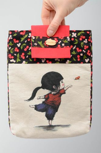 Handmade fabric bag Girl - MADEheart.com