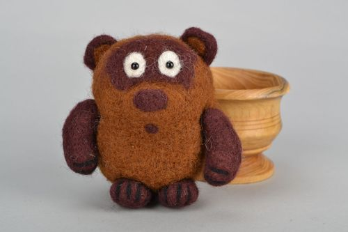 Soft felted toy - MADEheart.com