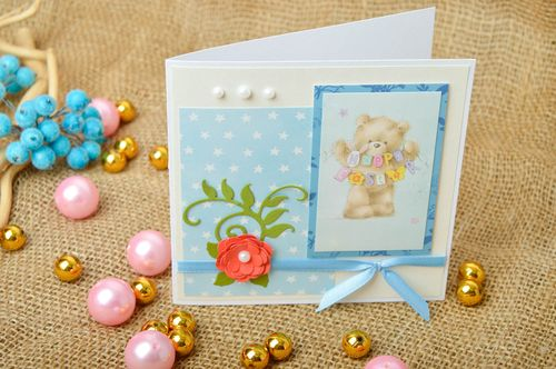 Handmade greeting card handmade birthday card designer postcards souvenir ideas - MADEheart.com