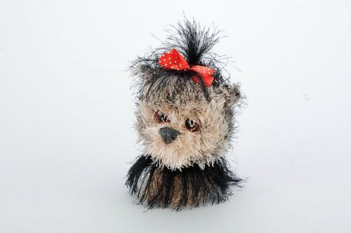 Crochet toy Dog - MADEheart.com