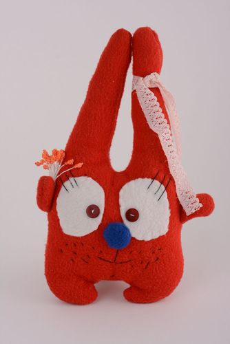 Soft fleece toy Rabbit - MADEheart.com