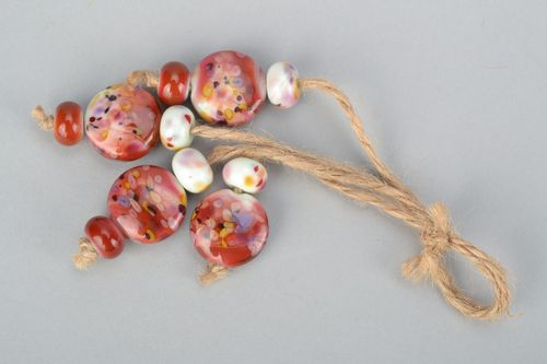 Set of lampwork beads - MADEheart.com