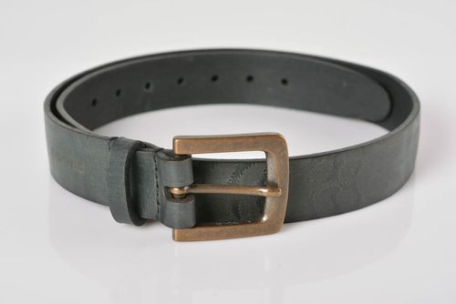 Handmade leather belt designer belts fashion accessories gifts for men - MADEheart.com
