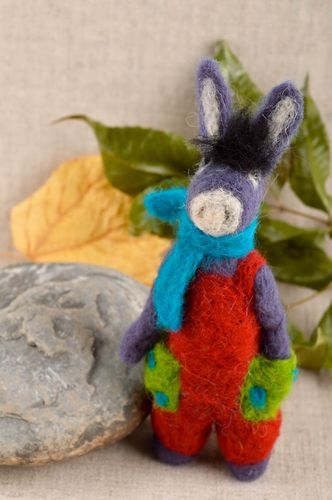 Handmade collectible toys felted toys nursery decor present for children - MADEheart.com