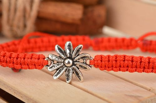 Unusual handmade braided friendship bracelet jewelry designs gifts for her - MADEheart.com