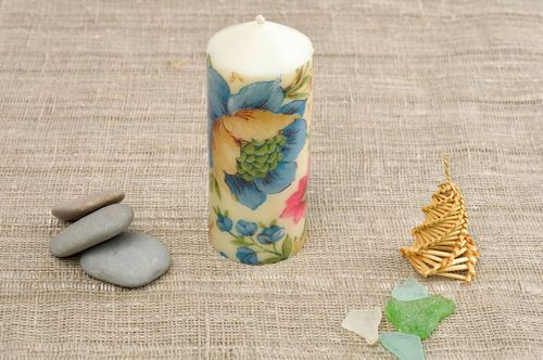 Handmade candle unusual candle for interior decor ideas parrafin candle - MADEheart.com