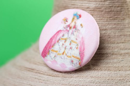 Handmade unusual button cute button for kids clothes designer accessory - MADEheart.com