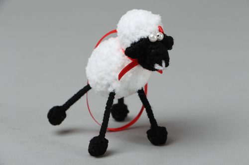 Crochet toy Little Lamb - MADEheart.com