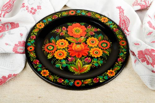 Beautiful handmade wall plate wooden wall panel small gifts decorative use only - MADEheart.com