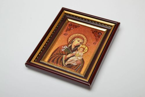 Orthodox icon Virgin Mary and the Child - MADEheart.com