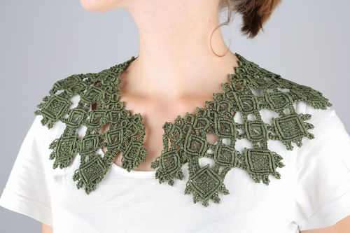 Large woven collar - MADEheart.com