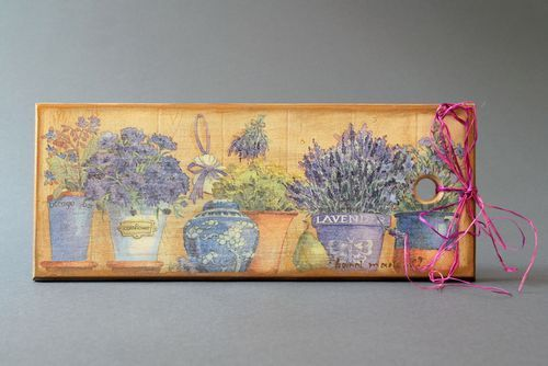 Decorative cutting board Provence - MADEheart.com