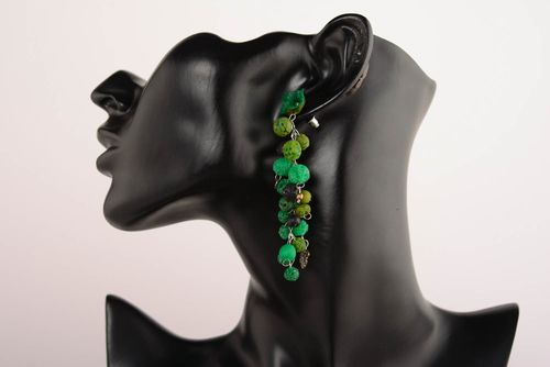Cuff earrings Grapes - MADEheart.com