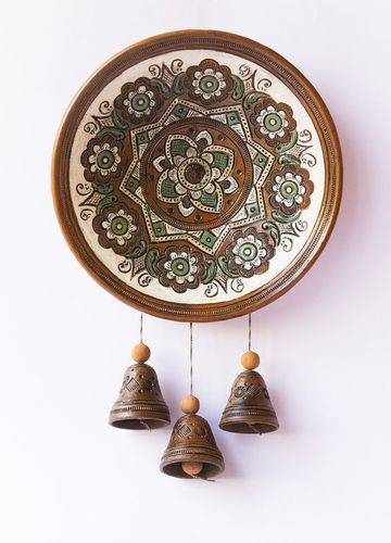 Decorative plate with bells - MADEheart.com