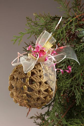 Handmade Christmas ball good Christmas gifts home design decorative use only - MADEheart.com