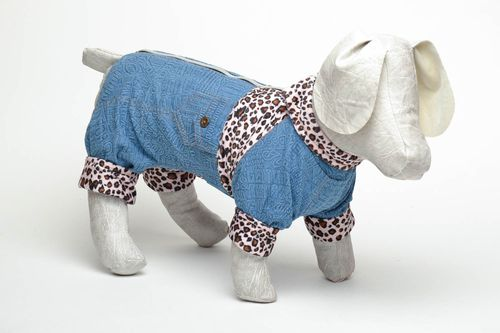 Cotton dog clothing - MADEheart.com