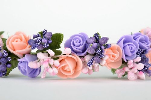 Headband, hair wreath - MADEheart.com