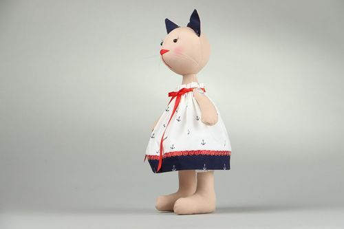 Cotton toy Sailor cat - MADEheart.com