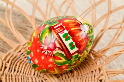 Unusual handmade Easter egg Easter decor the living room decorative use only - MADEheart.com