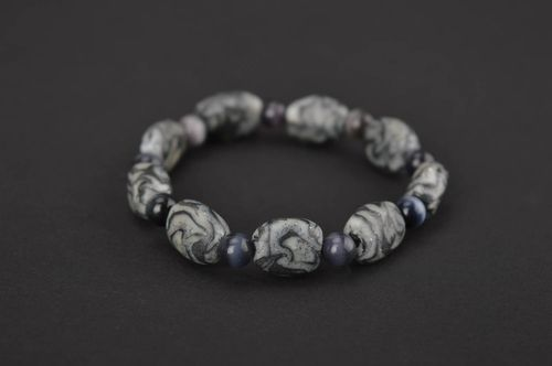 Homemade jewelry polymer clay bead bracelet best gifts for women cool jewelry - MADEheart.com