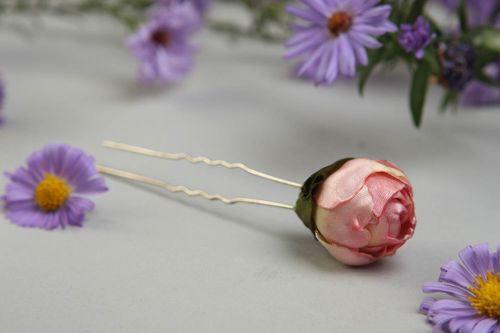 Handmade jewelry hair pin hair accessories for girls flowers for hair gift ideas - MADEheart.com