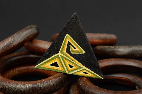 Unusual handmade leather ring artisan jewelry designs fashion accessories - MADEheart.com