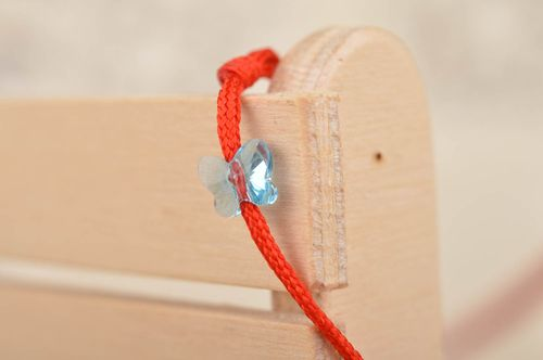 Unusual handmade string bracelet friendship bracelet designs textile jewelry - MADEheart.com