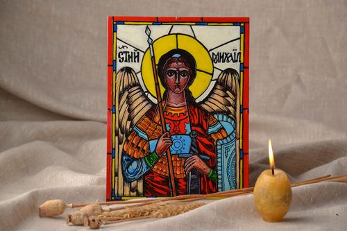Saint Michael Icon - MADEheart.com