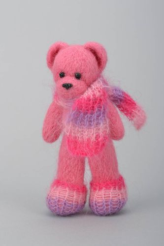 Felted toy Bear - MADEheart.com