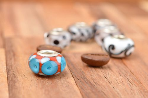 Handmade fittings unusual beads designer accessory jewelry charms gift ideas - MADEheart.com