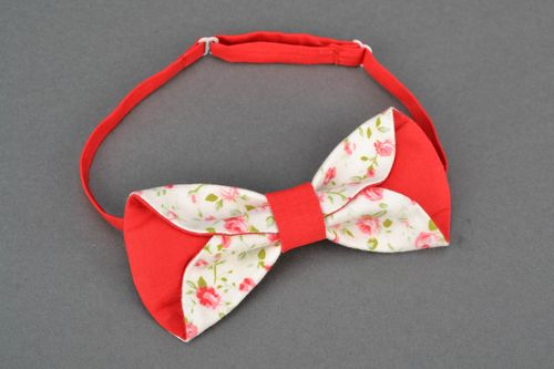 Womens bow tie with print - MADEheart.com