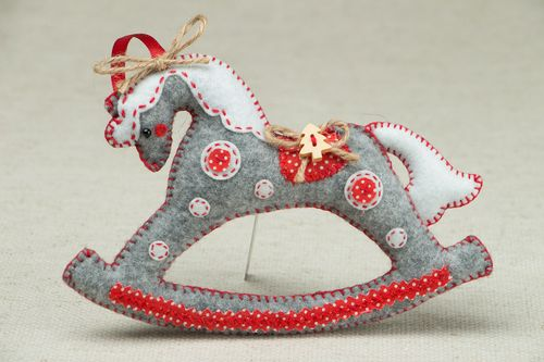 Christmas tree decor Horse - MADEheart.com