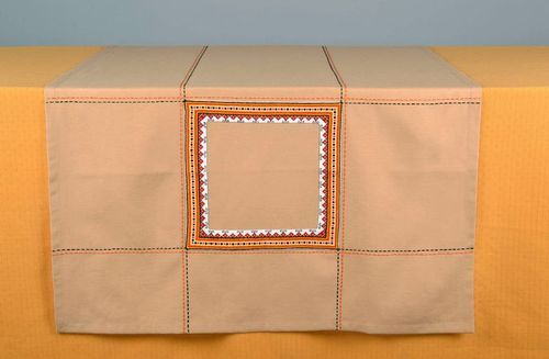 Cotton tablecloth - MADEheart.com