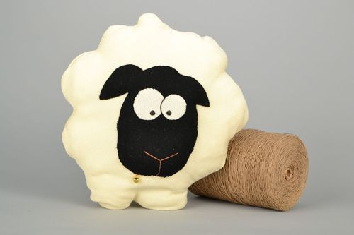 Soft pillow pet in the shape of a sheep - MADEheart.com