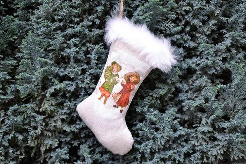 Soft Christmas tree decoration Boot - MADEheart.com