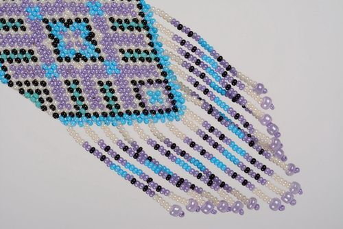 Handmade gerdan made of beads - MADEheart.com
