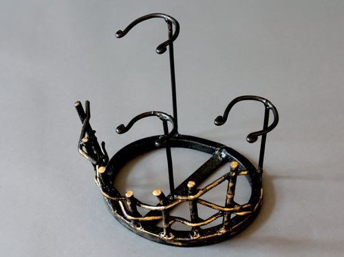Decorative forged stand - MADEheart.com