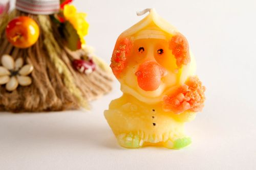 Handmade unusual candle cute colorful candle aromatized candle figurine - MADEheart.com