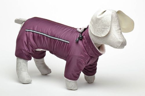 Winter dog overalls - MADEheart.com