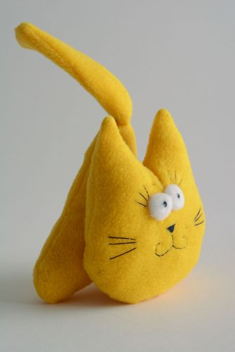 Soft toy with aroma Yellow Kitten - MADEheart.com