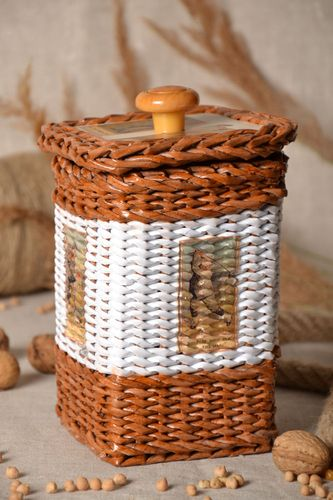 Homemade basket for small things - MADEheart.com