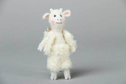 Soft crochet toy Little Goat - MADEheart.com