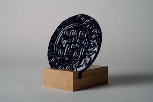 Decorative plate Spiritual Power - MADEheart.com