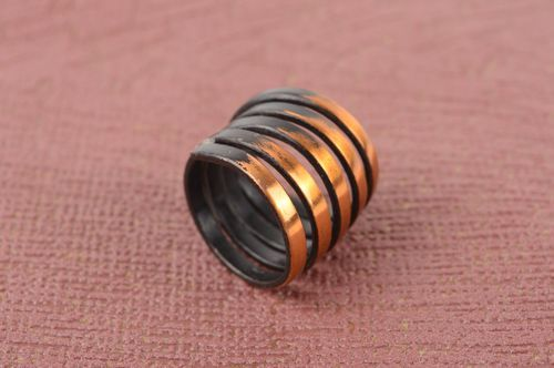 Handmade jewelry metal ring seal ring fashion rings womens accessories - MADEheart.com