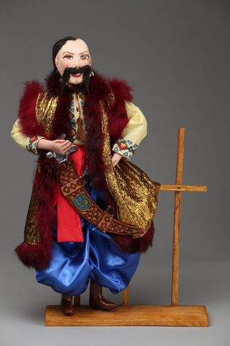 Gift doll The Cossack - MADEheart.com
