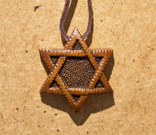 The star of David - MADEheart.com
