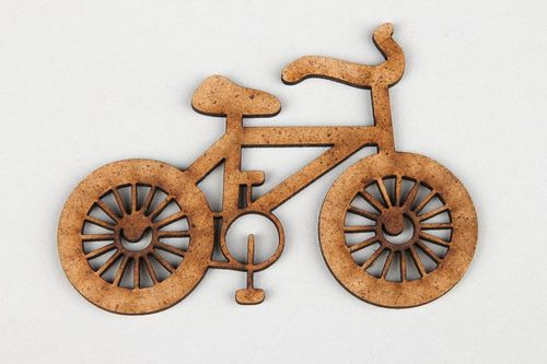 Chipboard Bicycle - MADEheart.com